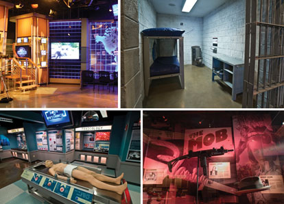 The Crime Museum in Washington, DC, is a walk through the history of crime in the United States. The privately-owned museum was founded by John Morgan and John Walsh. Walsh's TV program.