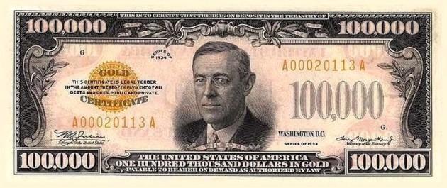 10000-bill-wilson-gold-certificate